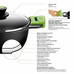 Grill a rayas bra prior 28 cm306220