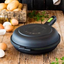 Sarten dupla para tortillas bra prior 24 cm306324