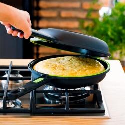 Sarten dupla para tortillas bra prior 20 cm