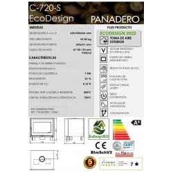 Insert panadero c-720-s ecodesign con ventilador307063