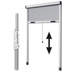 Mosquitera para ventana enrollable vertical heyac 130x150 cm blanco