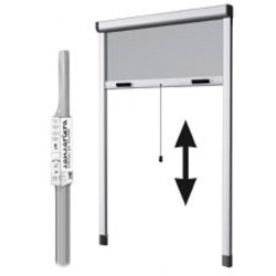 Mosquitera para ventana enrollable vertical heyac 160x150 cm blanco