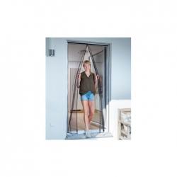 Mosquitera para puerta magnetica cortina 120x240 cm antracita