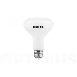 Bombilla led reflectora matel 80 mm e27 10 w luz calida