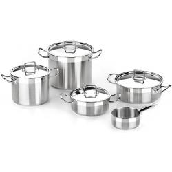 Bateria de cocina bra profesional 5 piezas