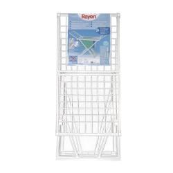 Tendedero plegable rayen resina 20 m309591