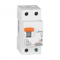 Interruptor diferencial legrand bipolar 25 a