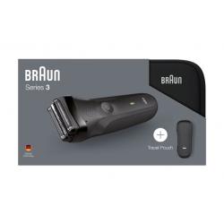 Afeitadora braun 300 s black con funda310948