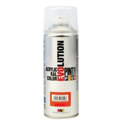Pintura spray acrilica pintyplus barniz mate 520 cc