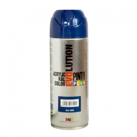 Pintura spray acrilica pintyplus azul oscuro brillo 520 cc