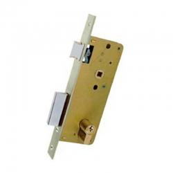 Cerradura ezcurra 4000 golpe y llave entrada 40mm cromada embutir