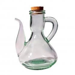 Aceitera vidrio maquina tapa corcho 25 cl