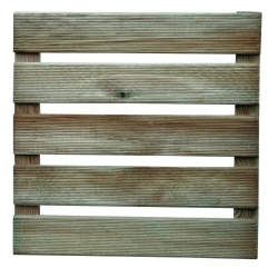 Loseta madera pino lara 40 x 40 cm