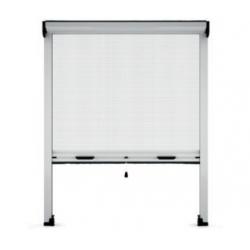 Mosquitera para ventana enrollable vertical heyac 100x150 cm blanco