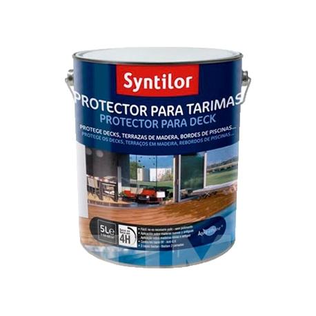 Protector tarimas aquarethane teca-5+1l
