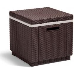 Mesa nevera ratan resina ice cube marron317383