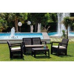 Conjunto jardin keter tarifa lounge marron317457