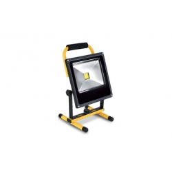 Proyector led recargable con soporte 20w 2000 lumens