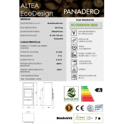 ESTUFA DE LEñA PANADERO ALTEA ECODESIGN318394
