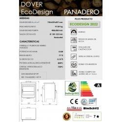 ESTUFA DE LEñA PANADERO DOVER ECODESIGN318396