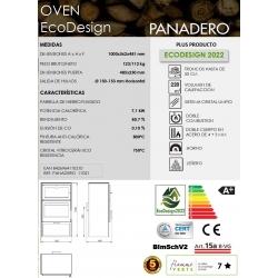 ESTUFA DE LEñA PANADERO OVEN ECODESIGN318398