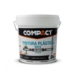PINTURA PLASTICA COMPACT15 L INTERIOR MATE BLANCA