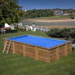 Cubierta verano piscina gre mango cvkpbrc620