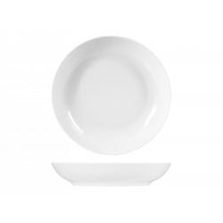 Plato hondo porcelana sweden blanco