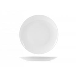 Plato postre porcelana sweden blanco