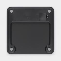 Bascula baño digital brabantia negra new319536