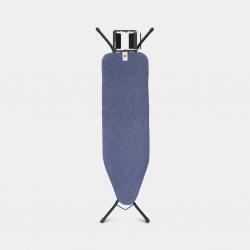 Tabla de planchar brabantia denim blue 124x38