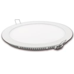 Downlight led corte 185mm matel blanco 18w luz fria