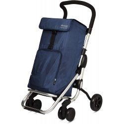Carro compra playcare plegable ruedas giratorias navy
