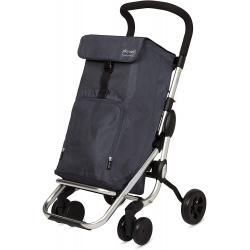 Carro compra playcare plegable ruedas giratorias marengo