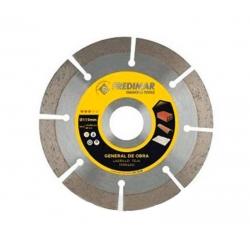 Disco general de obra fredimiar rapid cut segmentado 115 mm h 22,2