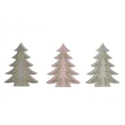 Arbol navidad madera 3d