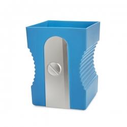 Papelera balvi sharpener azul plastico