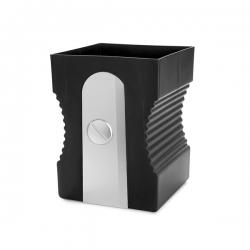 Papelera balvi sharpener negro plastico