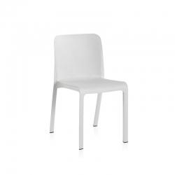 Silla resina shaf grana blanco 48 x 53 x 80 cm
