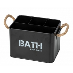 Cesta baño con compartimiento gara