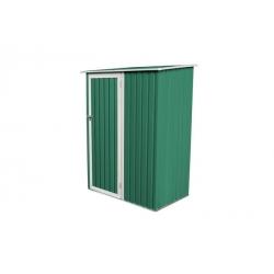 Armario metalico verde newcastle 1.27m2 l143 x f89 x h186 cm