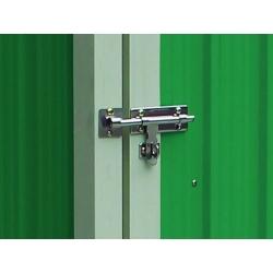 Armario metalico verde newcastle 1.27m2 l143 x f89 x h186 cm323181