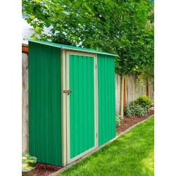 Armario metalico verde newcastle 1.27m2 l143 x f89 x h186 cm323182