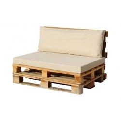 Cojin asiento para palet crudo