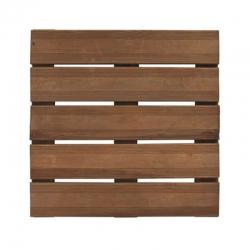 Baldosa de madera forest bolenia marron 50 x 50 cm