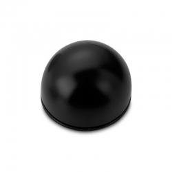 Tope puerta negro adhesivo flexible 2033 2 unidades