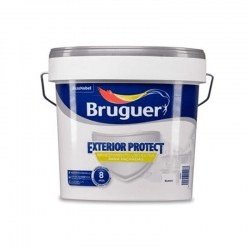 Revestimiento exterior bruguer protect liso blanco 25 kg