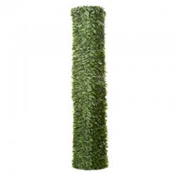 Seto artificial enrejados bicolor maxi hoja ancha 1.5 x 3 m