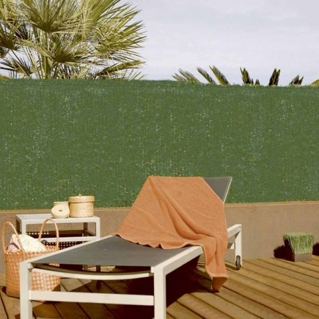 Seto artificial nortene greenset pvc 1,5 x 3 m