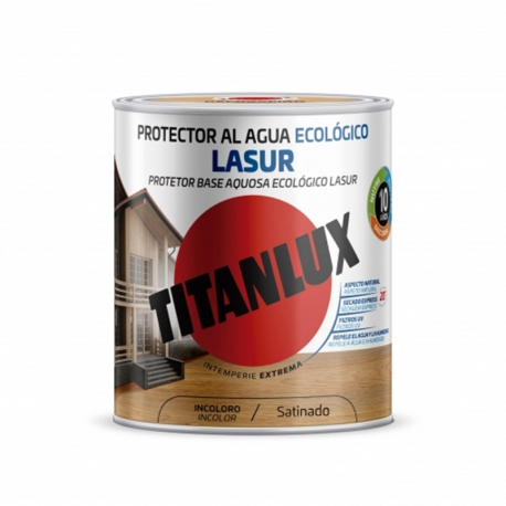 Lasur ecologico titanlux incoloro satinado 750 ml